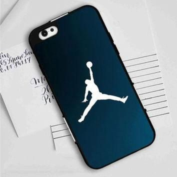 CREYUG7 Michael Jordan Basket Ball Dunk Blue iPhone 7 | 7 Plus Case Planetscase.com