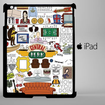 Friends TV Show iPad 2, iPad 3, iPad 4, iPad Mini and iPad Air Cases - iPad