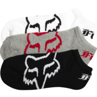 Fox No Show Sock - 3 Pack  - Fox Racing