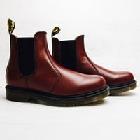 2976 Chelsea Smooth Boot - Cherry Red