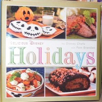 Delicious Disney Holidays Cook Book (Hardcover) - Disney Shopping at The Laughing Place Store