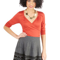 ModCloth Rustic Short Length A-line Youb