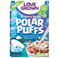 Order Love Grown Blueberry Vanilla Polar Puffs Cereal | Fast Delivery