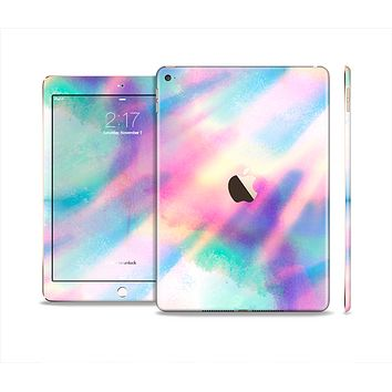 The Tie Dyed Bright Texture Skin Set for the Apple iPad Air 2