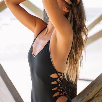 Acacia Summer || Florence one piece in storm