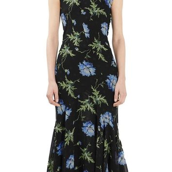 Topshop Unique Evelyn Silk Midi Dress | Nordstrom