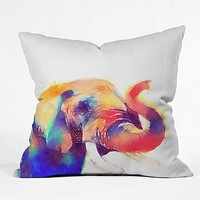 Jacqueline Maldonado The Majestic Throw Pillow