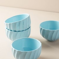 Swirled Cereal Bowl Set