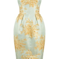 Light Blue Valiant Brocade Dress | Zimmermann