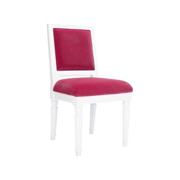 Worlds Away Hot Pink Scarsdale Chair