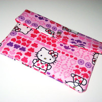 Hello Kitty Full size iPad Sleeve / Envelope Clutch