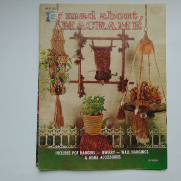 Mad about Macrame Booklet HA 36