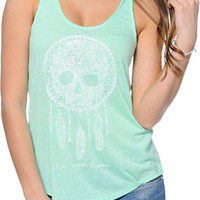 Empyre Casey Dream Skull Mint Tank Top