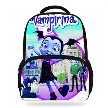Boys Backpack Bag 2018 Newest Cartoon Vampirina Children Daily s For Teenage Girls School Bags Movie character Book bags For Kids Boys AT_61_4