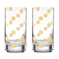kate spade new york Pearl Place Highball Glass, Set of 2