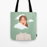 Head in the Clouds Tote Bag by marylobs