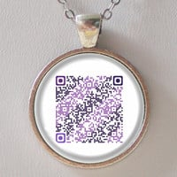 Event QR Code Necklace -Personalize your Event & Calendar- QR Code series