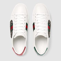 shosouvenir : Gucci Ace Embroidered Low-top Sneaker