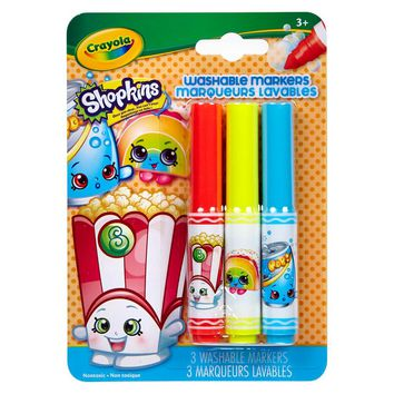 Crayola® Shopkins PipSqueaks Markers 3ct - Poppy Corn