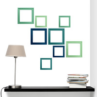 Under the Sea Frames wall decal