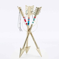 Arrow Jewellery Stand in Gold - Urban Outfitters