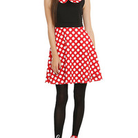 Disney Minnie Mouse Polka Dot Dress