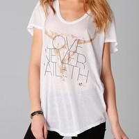 291 Love Never Faileth Tee