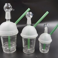 Starbuck Glass Bongs Interface 9mm 14.5mm 18mm  Glass Bubbler Bongs Glass