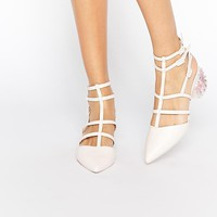 ASOS | ASOS SPECTACLE Caged Pointed Heels at ASOS