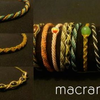 friendship bracelets unique micro macrame jewelry collections buy 3 get 1