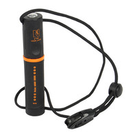 Flint striker fire starter with compass 8,000 strikes Easy Fire Starting Outdoors w/ Whistle
