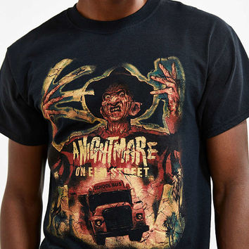 Nightmare On Elm Street Tee - Urban Outfitters