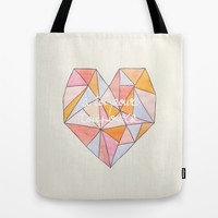 Pour Toujours Tote Bag by Sandra Arduini
