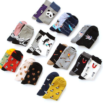 Creative Illustrations Socks