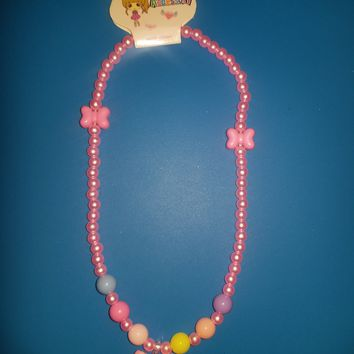 Candy Bead Bow Jewelry Set