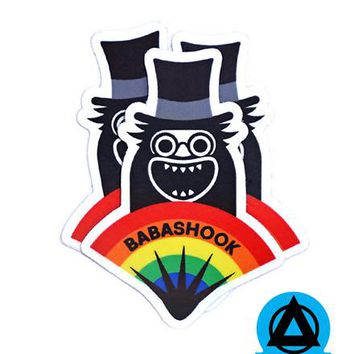 Babashook (Gay Babadook) Sticker (Set of 3)