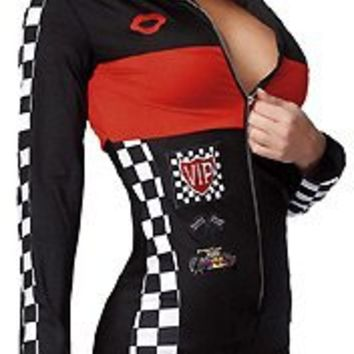 Coquette Women's Racer Girl Sexy Race Driver Costume For Women
