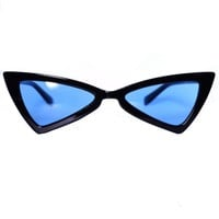 Jetson Black Triangular Sunglasses