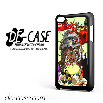 Mononoke Totoro Anime Manga DEAL-7375 Apple Phonecase Cover For Ipod Touch 4