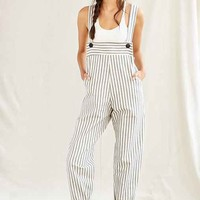 Mixed Business Bib Overall- Black Multi