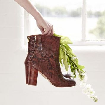 Tori Snake Calf Boot - Urban Outfitters