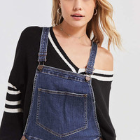 BDG Slim Crop Overall – Indigo | Urban Outfitters