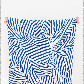 Stripe Navy Furoshiki Wrapping Cloth