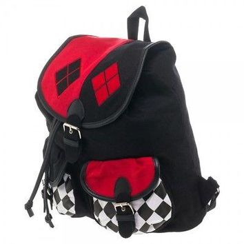 BioWorld - DC Comics Harley Quinn Knapsack Backpack