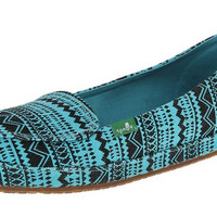 Sanuk Mirage Tribal Aqua Slip-On Loafers