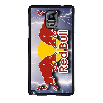 monster energy logo red bull samsung galaxy note 4 note 3 cover cases