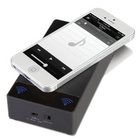 The Stradivarian Smartphone Speaker - Hammacher Schlemmer