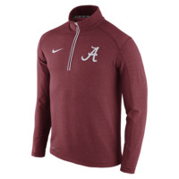 Nike College Game Day Half-Zip Knit (Alabama) Men's Top