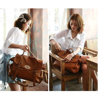 Lady Women Hobo Leather Messenger Handbag Shoulder Bag Totes = 1697488580