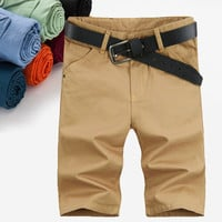 Five Pocket Slim Shorts